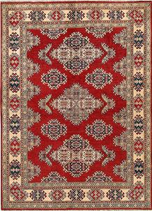 Firebrick Kazak 5' x 6' 9 - No. 67430