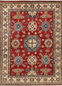 Firebrick Kazak 5' 1 x 6' 7 - No. 67432