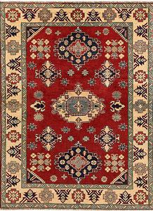 Firebrick Kazak 4' 10 x 6' 7 - No. 67475