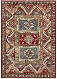 Multi Colored Kazak 5' x 7' - No. 67478