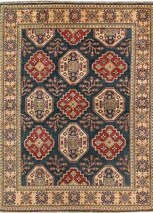 Dark Blue Kazak 4' 10 x 6' 7 - No. 67480