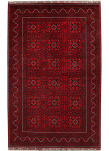 Dark Red Khal Mohammadi 6' 6 x 10' 1 - No. 67508