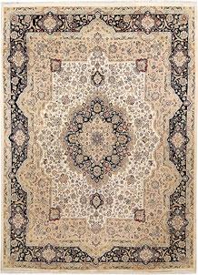 Ivory Isfahan 8' 11 x 12' 4 - No. 67517