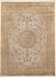 Blanched Almond Kashan 8' 10 x 12' 1 - No. 67526