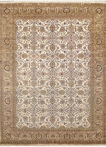 Ivory Sultanabad 9' 2 x 12' 3 - No. 67534