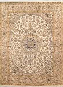 Blanched Almond Isfahan 8' x 10' 4 - No. 67548