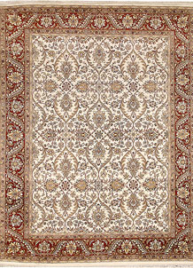 Ivory Mahal 8' 2 x 10' 4 - No. 67549