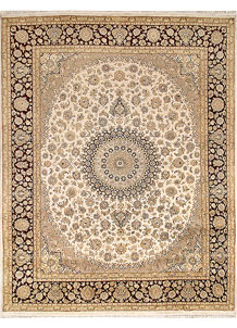 Blanched Almond Isfahan 8' x 10' 2 - No. 67551