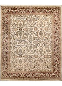 Antique White Mahal 8' 1 x 10' 3 - No. 67554