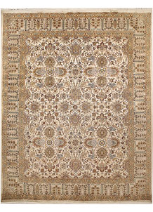 Antique White Mahal 8' x 10' 1 - No. 67556