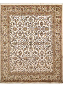 Ivory Mahal 8' 1 x 10' 2 - No. 67557