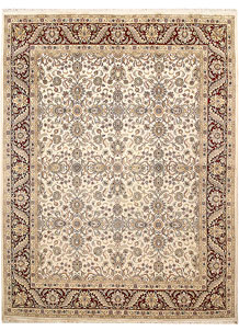 Antique White Mahal 8' 1 x 10' 4 - No. 67560