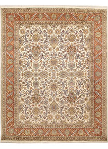 Antique White Mahal 7' 11 x 10' 1 - No. 67567