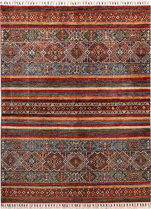 Multi Colored Kazak 4' 11 x 6' 7 - No. 67579