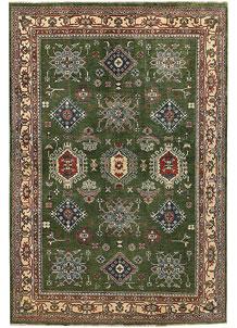 Olivedrab Kazak 6' 6 x 9' 8 - No. 67592