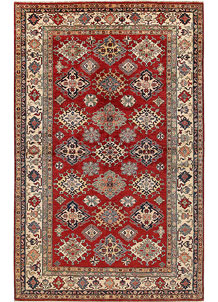 Firebrick Kazak 6' 6 x 10' 4 - No. 67784