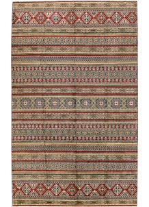 Multi Colored Kazak 10' x 16' 1 - No. 68011