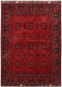 Dark Red Khal Mohammadi 4' 9 x 6' 4 - No. 68085