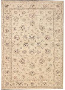 Antique White Ziegler 5' 6 x 7' 10 - No. 68130