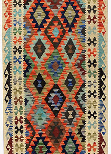Multi Colored Kilim 2' 9 x 13' 1 - No. 68169