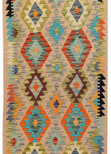 Multi Colored Kilim 2' 8 x 13' 3 - No. 68171