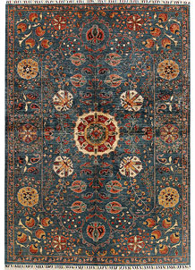 Multi Colored Kazak 6' 8 x 9' 5 - No. 68186