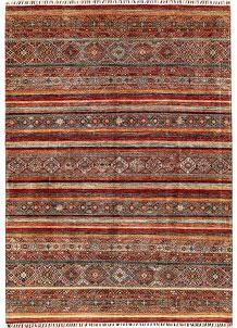 Multi Colored Kazak 6' 8 x 9' 3 - No. 68193