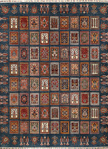 Multi Colored Bakhtiar 8' 2 x 9' 9 - No. 68194