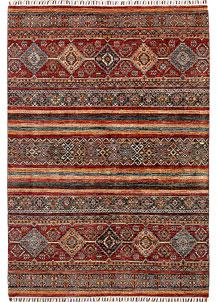 Multi Colored Kazak 5' 8 x 7' 11 - No. 68195
