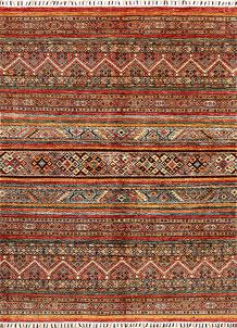 Multi Colored Kazak 5' 9 x 7' 7 - No. 68197