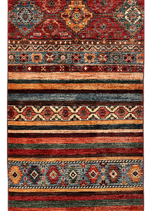 Multi Colored Kazak 2' 7 x 9' - No. 68202