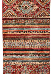 Multi Colored Kazak 2' 9 x 9' 8 - No. 68204