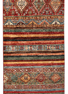 Multi Colored Kazak 2' 9 x 8' - No. 68207