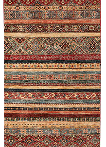 Multi Colored Kazak 2' 8 x 9' 4 - No. 68208