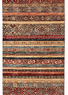 Multi Colored Kazak 2' 8 x 9' 4 - No. 68208