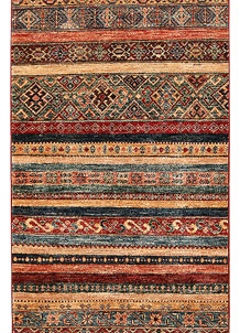 Multi Colored Kazak 2' 7 x 9' 4 - No. 68210