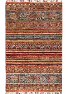 Multi Colored Kazak 3' 11 x 5' 11 - No. 68211