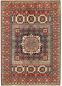 Multi Colored Kazak 6' 9 x 9' 6 - No. 68238