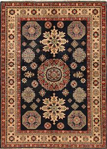 Black Kazak 6' 2 x 8' 5 - No. 68267