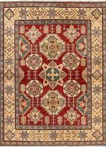 Firebrick Kazak 4' 9 x 6' 4 - No. 68276