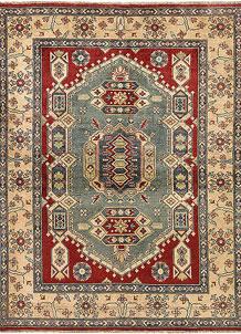 Multi Colored Kazak 4' 11 x 6' 4 - No. 68284