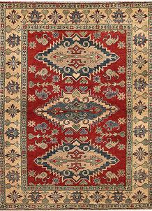 Firebrick Kazak 4' 9 x 6' 5 - No. 68292