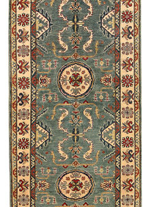 Cadet Blue Kazak 3' 10 x 12' 5 - No. 68299