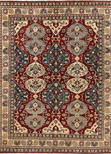 Dark Red Kazak 8' x 9' 11 - No. 68318