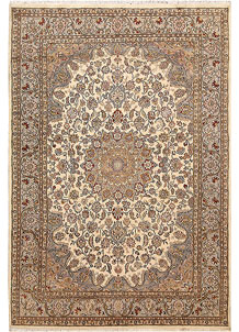 Bisque Kashan 5' 5 x 8' 3 - No. 68359