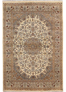 Bisque Isfahan 5' 5 x 8' - No. 68363