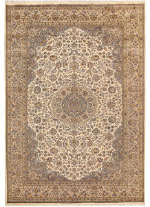 Bisque Kashan 5' 8 x 8' 3 - No. 68364