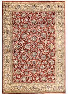Firebrick Mahal 6' 7 x 9' 7 - No. 68451