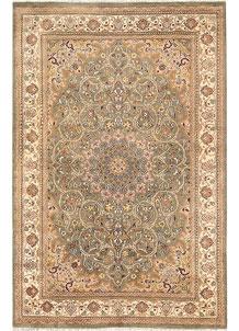Olive Kashan 4' 8 x 7' 1 - No. 68513