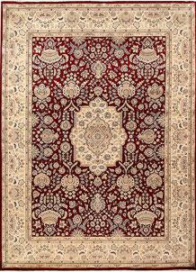 Firebrick Isfahan 9' 1 x 12' 4 - No. 68530